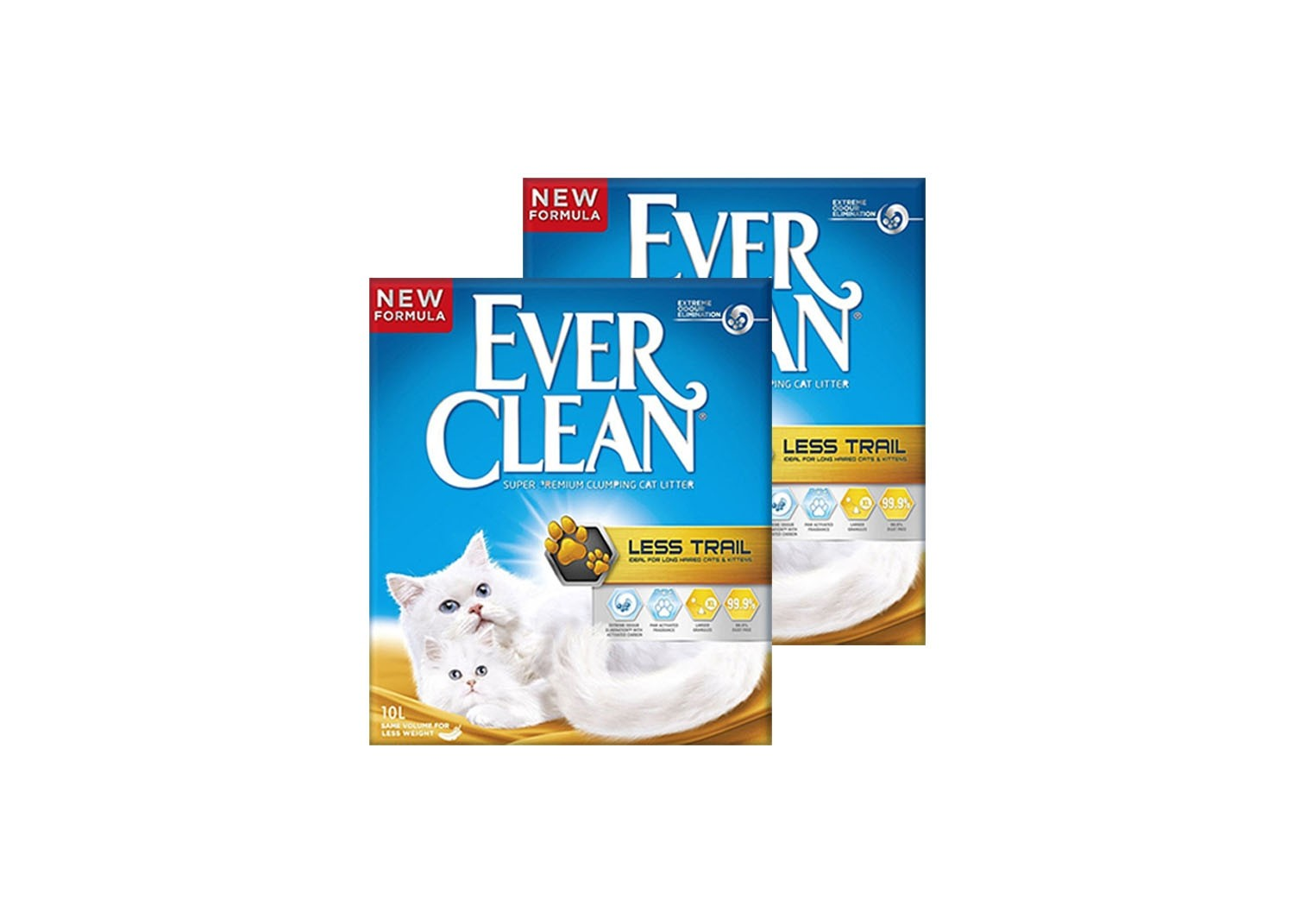 Ever Clean 2'li Less Trail Kedi Kumu Paketi - 2 Adet x 10 Lt.